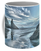 Sculptures On The Shore Coffee Mug