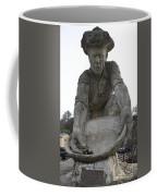 Scuplture Of Gold Rush Miner Claude Chana Coffee Mug