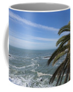 Sea And Palm Tree Coffee Mug