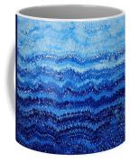 Sea And Sky Original Painting Coffee Mug