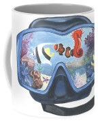 Sea Beneath The Surface Coffee Mug