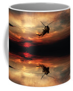 Sea King Sunset  Coffee Mug