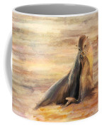 Sea Lion Mom And Pup Love On Galapagos Island Coffee Mug