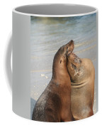 Sea Lions In Love Coffee Mug