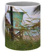 Sea Oats And The Tower Coffee Mug