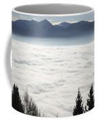 Sea Of Fog And Alps Coffee Mug