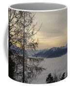 Sea Of Fog In Sunset Coffee Mug