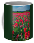 Sea Of Red Tulips Coffee Mug by Inge Johnsson