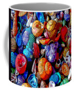Sea Shell Abstract Coffee Mug
