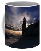 Sea Smoke At West Quoddy Head Lighthouse Coffee Mug