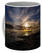 Sea Smoke Panorama Coffee Mug