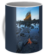 Sea Stacks And Star Fish Coffee Mug