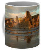 Sea Stacks And The City Coffee Mug
