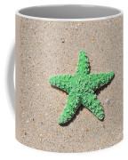 Sea Star - Green Coffee Mug by Al Powell Photography USA