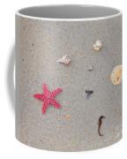 Sea Swag - Red Coffee Mug by Al Powell Photography USA