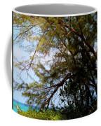 Sea Through Trees Coffee Mug