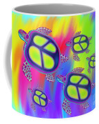 Sea Turtles Swimming  Coffee Mug