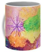 Sea Urchins - Abstract Coffee Mug