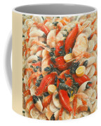 Seafood Extravaganza Coffee Mug by Lincoln Seligman