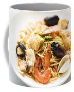Seafood Pasta Dish Coffee Mug