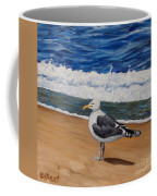 Seagull At The Seashore Coffee Mug