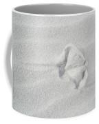Seagull Footprint On The Sand Coffee Mug