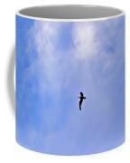 Seagull In Flight Coffee Mug