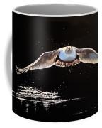 Seagull In The Moonlight Coffee Mug