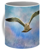 Seagull In The Storm Coffee Mug