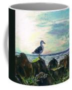 Seagull Lookout Coffee Mug