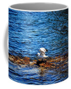 Seagull Wings Lifted Coffee Mug