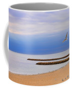 Seagulls And Sun Coffee Mug