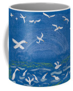 Seagulls Coffee Mug by Melissa Dawn