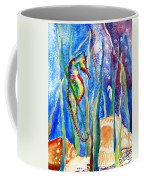 Seahorse And Shells Coffee Mug