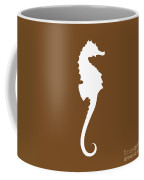 Seahorse In Brown And White Coffee Mug
