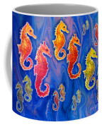 Seahorse March Coffee Mug