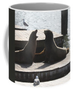 Sealion Discussion Coffee Mug