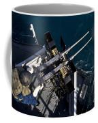 Seaman Fires Twin .50 Caliber Machine Coffee Mug