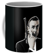 Sean Connery James Bond Vertical Coffee Mug