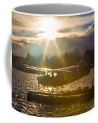 Seaplane Sunset Coffee Mug