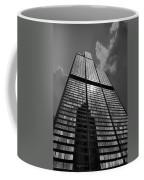 Sears Willis Tower Black And White 02 Coffee Mug