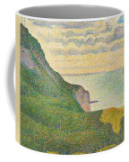Seascape At Port En Bessin Normandy Coffee Mug by Georges Seurat