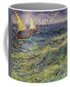 Seascape At Saintes-maries 1888 Coffee Mug