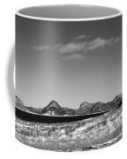 Seascape - Panorama - Black And White Coffee Mug