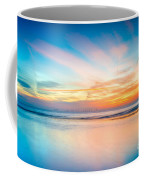 Seascape Sunset Coffee Mug by Adrian Evans