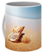 Seashell And Conch Coffee Mug