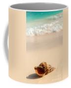 Seashell And Ocean Wave Coffee Mug