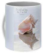 Seashell Be Still Coffee Mug