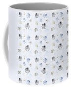 Seashell Pattern Coffee Mug