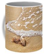 Seashells And Lace Coffee Mug